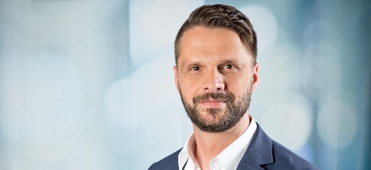 Geschäftsführer Mirco Kujbida im Gespräch